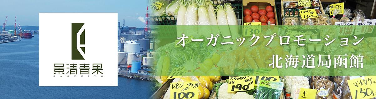 オーガニックプロモーション 北海道局函館